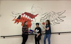 Freshman Building Creates New Mural