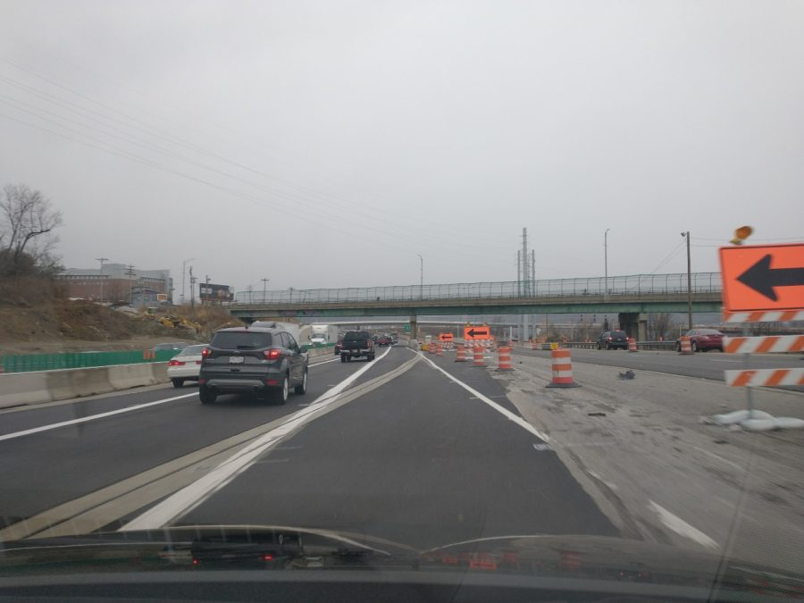 The Ongoing Construction on I-75