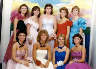 Prom Fashion through the Decades
